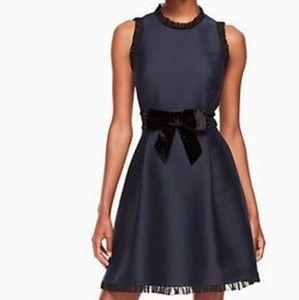 Kate Spade Velvet Navy Dress